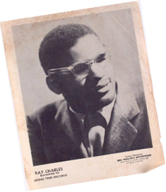 Ray Charles Swing Time Records headshot