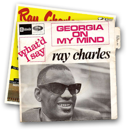 Ray Charles Album Cover For Georgia on My Mind