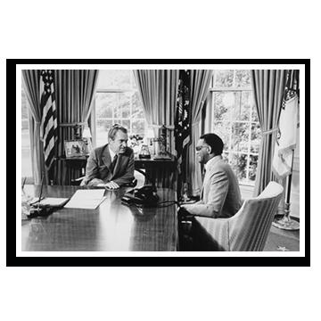 Ray Charles and Richard Nixon