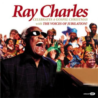 Ray Charles Celebrates A Gospel Christmas (With The Voices Of Jubilation) album cover