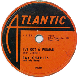 Atlantic record for I've Got A Woman