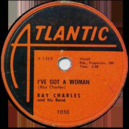 Atlantic record for I've Got A Woman