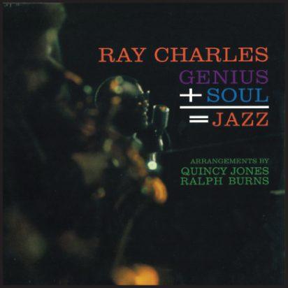 Genius + Soul = Jazz album cover