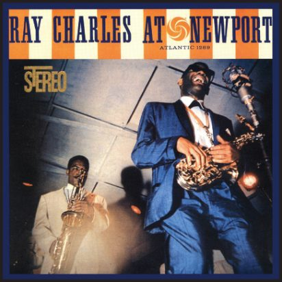 Ray Charles At Newport album cover