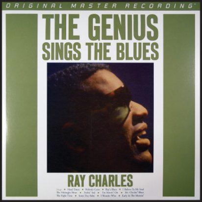 The Genius Sings The Blues album cover