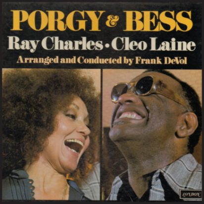 Porgy & Bess with Cleo Laine album cover