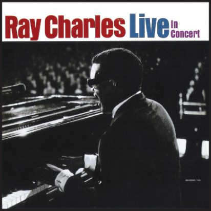 Ray Charles Live In Concert album cover