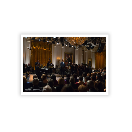 Smithsonian Salutes Ray Charles: In Performance at the White House Stage and Audience