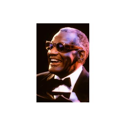 Ray Charles smiling